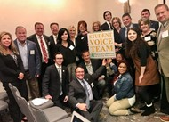 Members of Student Voice Team and Kentucky Superintendents