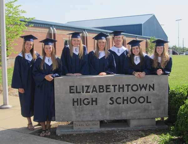 Elizabethtown High School Senior Walk
